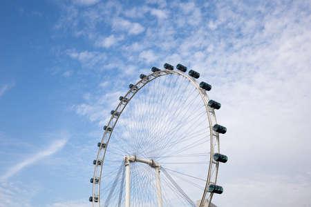 carny: Ferris wheel close up Stock Photo