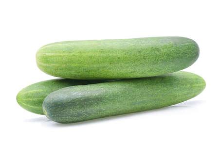 komkommer geïsoleerd op wit