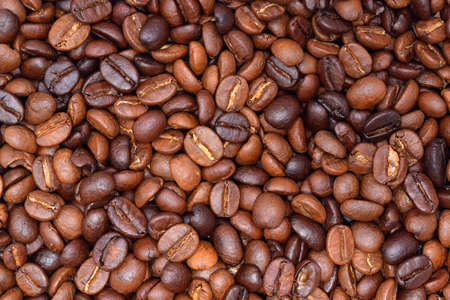 coffee beans background. Stock Photo