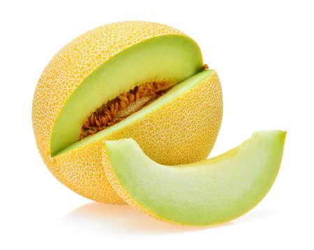 Melone Melone isoliert auf weiß Standard-Bild