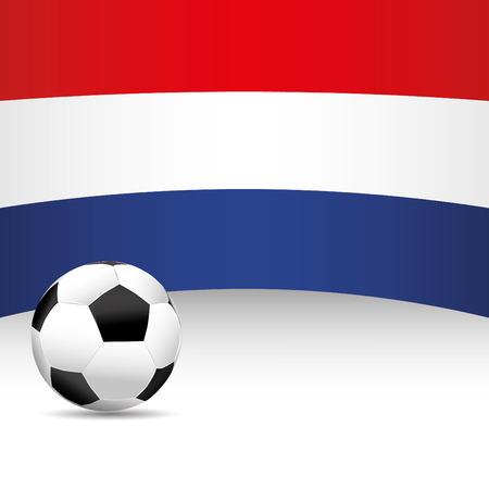 football match: Netherland Flag per partita di calcio Vettoriali