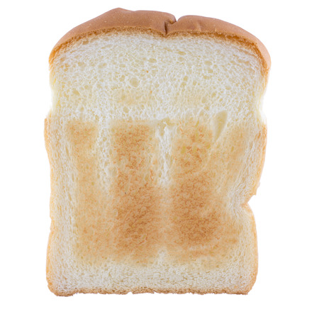 Bread on isolate background photo