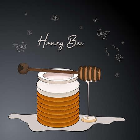 Honey bee vintage.