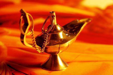 lampe magique: Lampe Magique Banque d'images