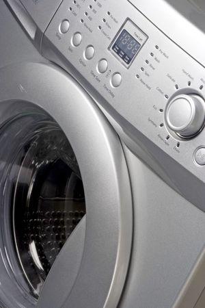 Close up of a washing machine Stock Photo - 2276385