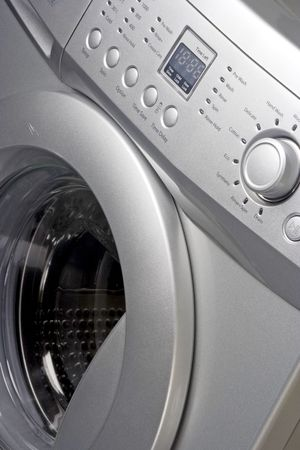 Close up of a washing machine Stock Photo - 2276385