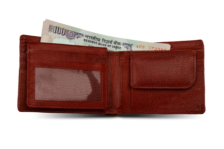 rupees: Indian Rupees and Wallet