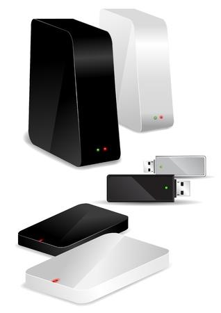harddisk: Different storage media