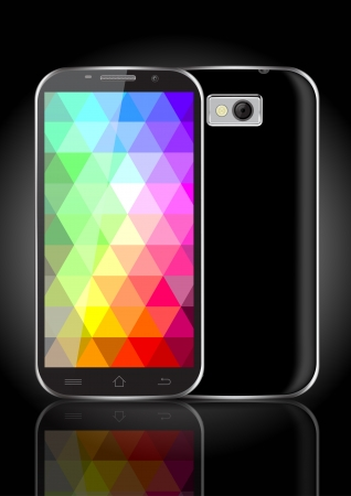 Mobile  Tablet  Smartphone Vector Illustration Vector