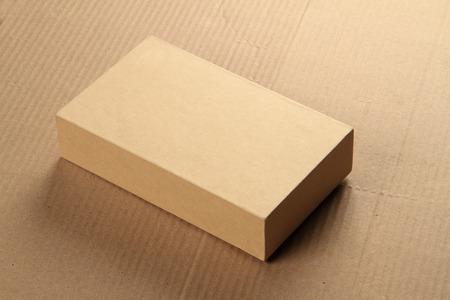 carton: Tarjeta de reciclaje Box Junta para Maqueta Foto de archivo