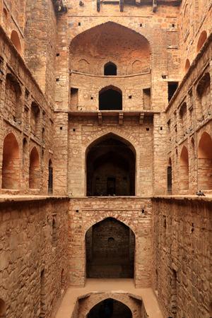 ki: Agrasen ki Baoli (Step Well), Ancient Construction, New Delhi, India