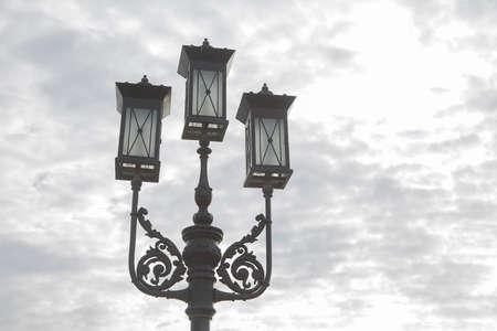 lighten: Street light Stock Photo