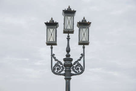 electric avenue: Street light Stock Photo