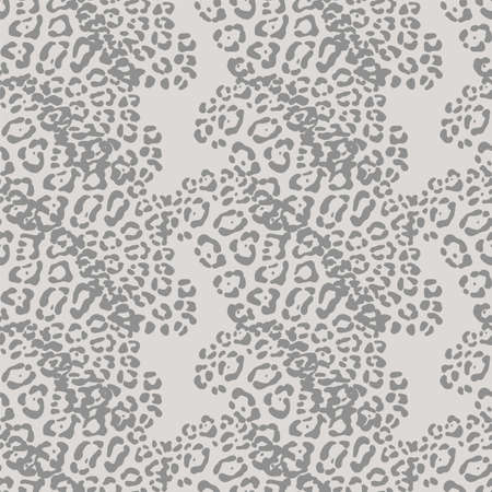 vector background of leopard skin pattern