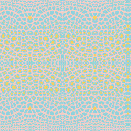 background of leopard skin pattern. handpickted Stock Photo
