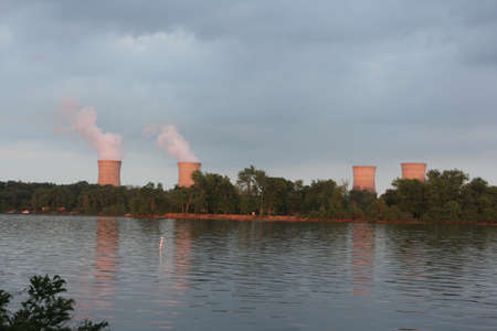 npp: Nuclear power plant  NPP  located on Three Mile Island in the Susquehanna River, south of Harrisburg, Pennsylvania in Londonderry Township
