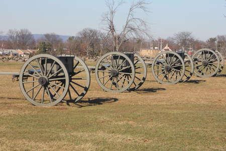 Two wheel wooden cart hauling ammunition