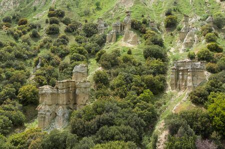 landforms, fairy chimneys Imagens