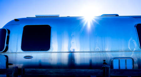 coolness: The bus in blue