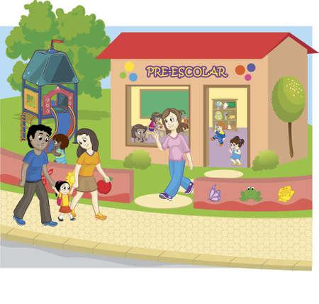 School kindergarten