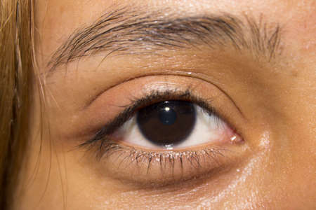 cornea: Eye Seorita Stock Photo