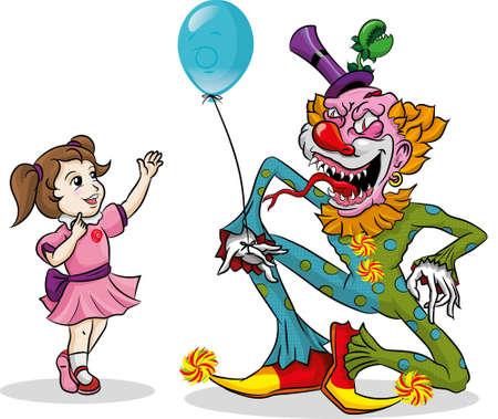 Evil clown: Evil Clown