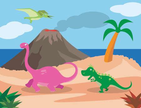 Dinosaurs Ilustrace