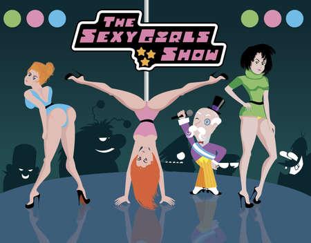 Cartoons animation vector illustration.