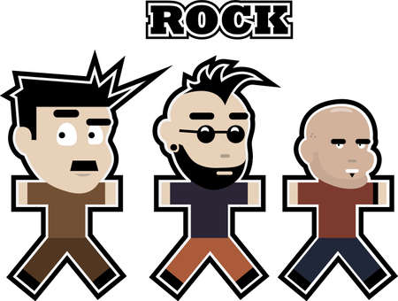 Alternate rock character