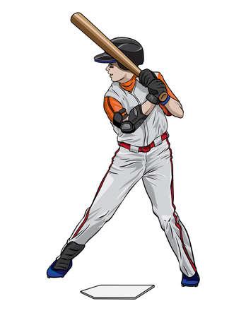 Baseball batter athlete
