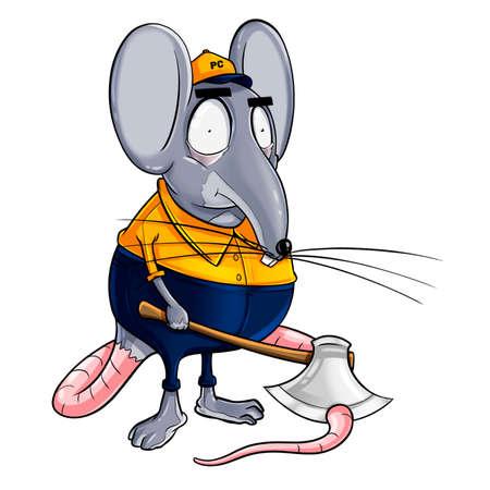 Pest Control Rat and Animal Archivio Fotografico