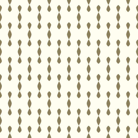 Delicate golden pattern. Seamless vector background