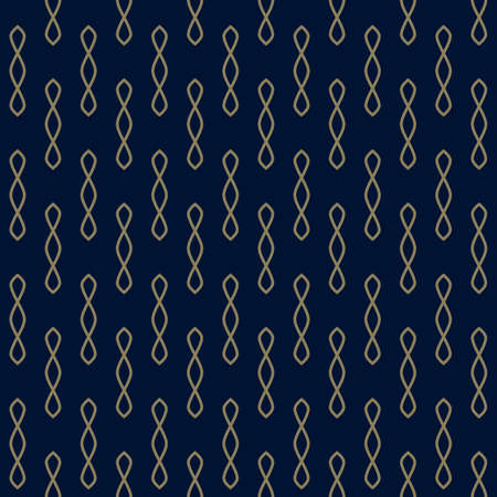 Seamless vector pattern with openwork shapes