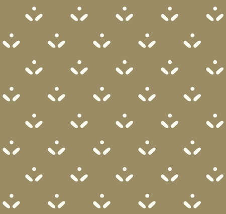 Seamless vector pattern with simple shapes