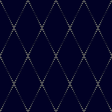 Geometric vector pattern in halftone style with shiny effect. Seamless background from dot lines. Can be used for fabric, paper, web design, textile, printed products. Illusztráció