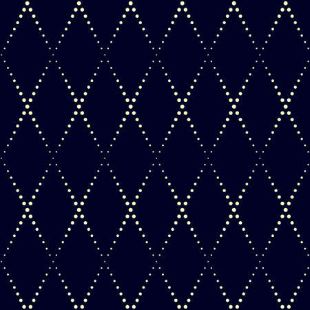 Dot rectangle pattern. Geometric vector background in halftone style with shiny effect. Seamless ornament. Can be used for fabric, paper, web design, magazines page, textile, printed products.