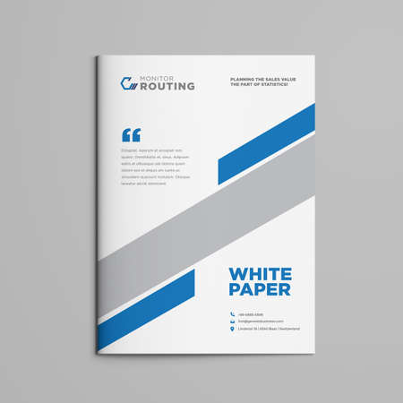 Brochure | White paper | Booklet | Company document | Business Plan|  Annual Report | Sales sheet | Catalog Cover Design Illustration