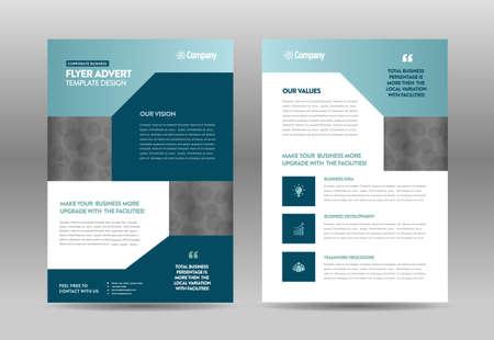 Corporate Business Flyer Design | Handout and leaflet design | Marketing sheet design