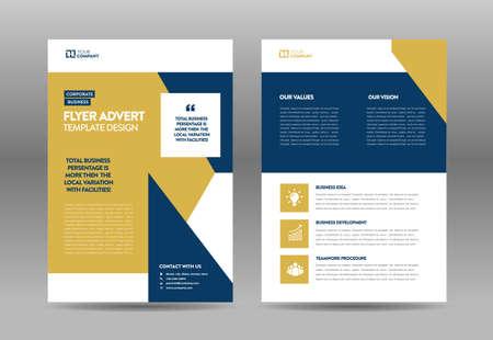 Firmenkunden-Flyer-Design | Handout und Flyergestaltung | Gestaltung des Marketingbogens