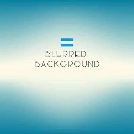 unfocused: Blurred color Argentina flag background. Vector illustration.