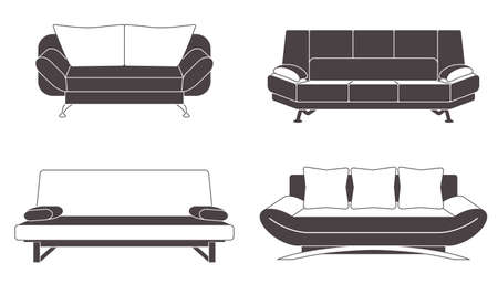 lounge room: Set of couches