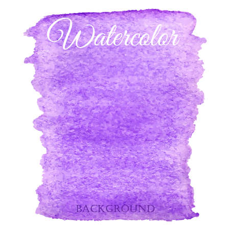 background purple: Abstract watercolor purple hand drawn vector background
