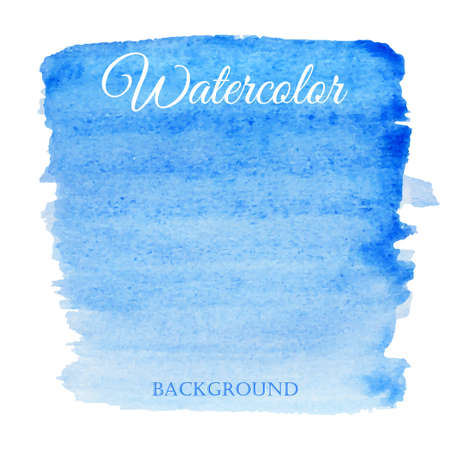 paper texture: Abstract watercolor blue hand drawn vector background