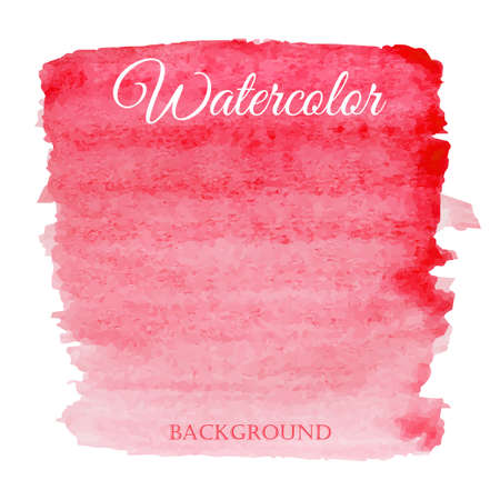 pink background: abstract watercolor red hand drawn background