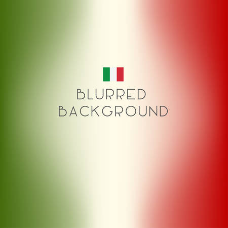 italy background: Blurred color Italy flag background. Illustration