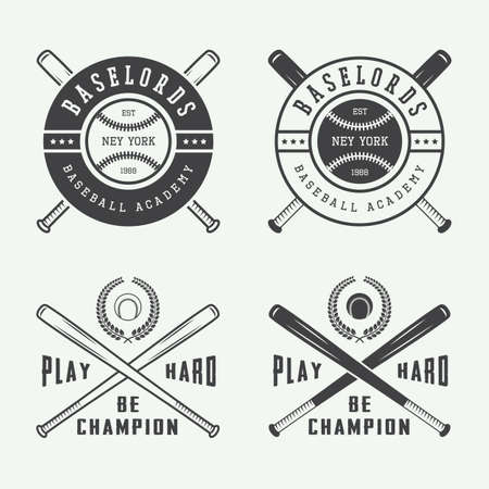 2689 baseball logo cliparts stock vector and royalty free baseball logo vintage baseball logos emblems badges and design elements vector illustration sciox Image collections