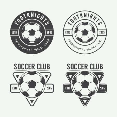 soccer: Set of vintage soccer