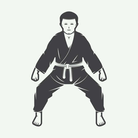 mixed martial arts: Karate de �poca o las artes marciales