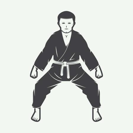 knockdown: Vintage karate or martial arts