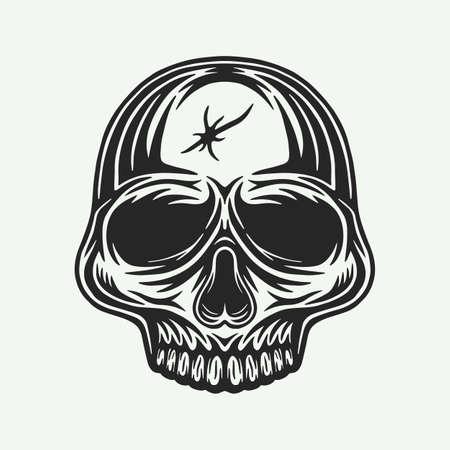 engraved style illustration for posters, decoration, emblem and print. Векторная Иллюстрация